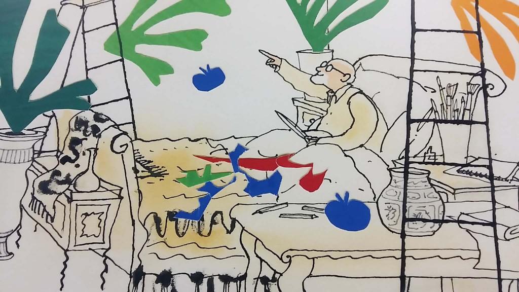 Tekening van Matisse in Stedelijk Museum Amsterdam