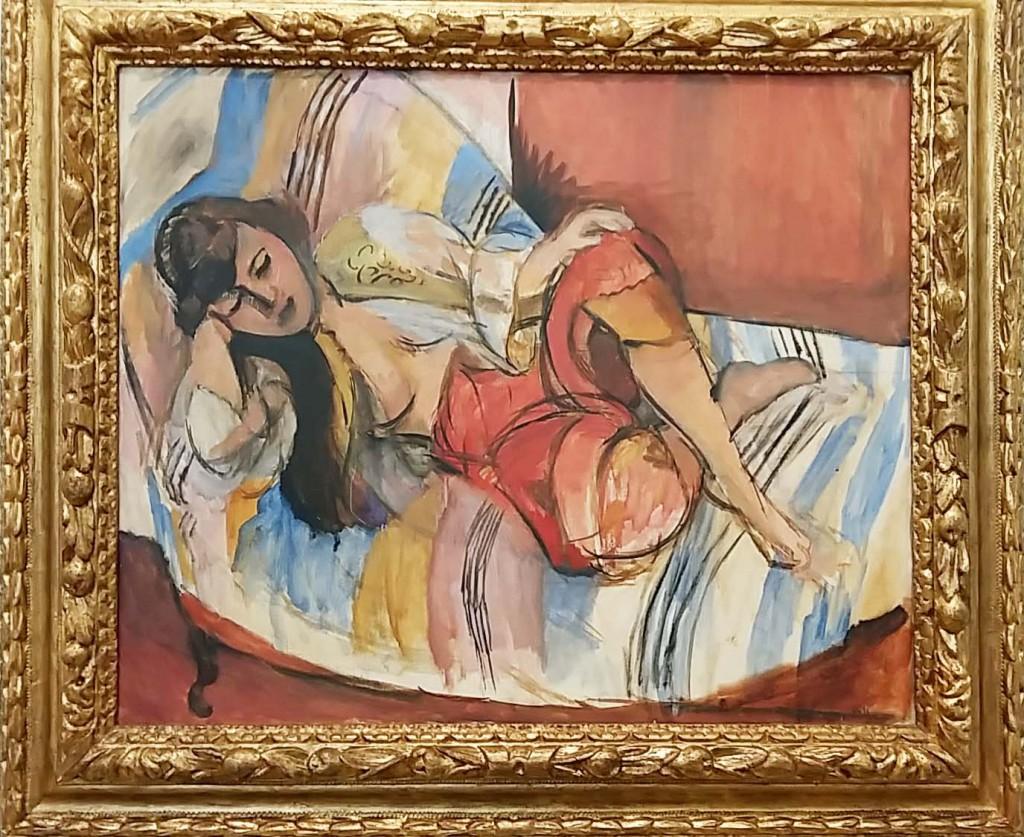 Odalisken zijn een van de terugkerende motieven in het werk van Henri Matisse