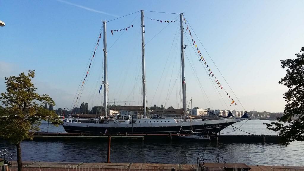 zeilschip de Eendracht op SAIL 2015 in Amsterdam IJhaven © Wilma Lankhorst