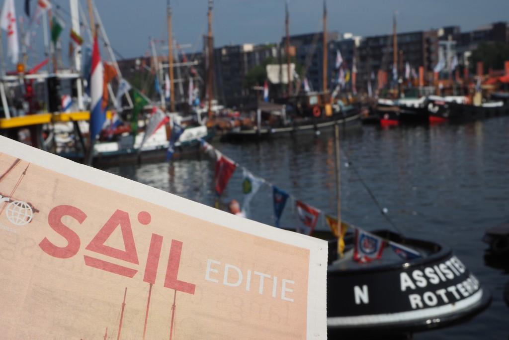 Sail 2015 met grote botenparade in de IJhaven in Amsterdam © Wilma Lankhorst