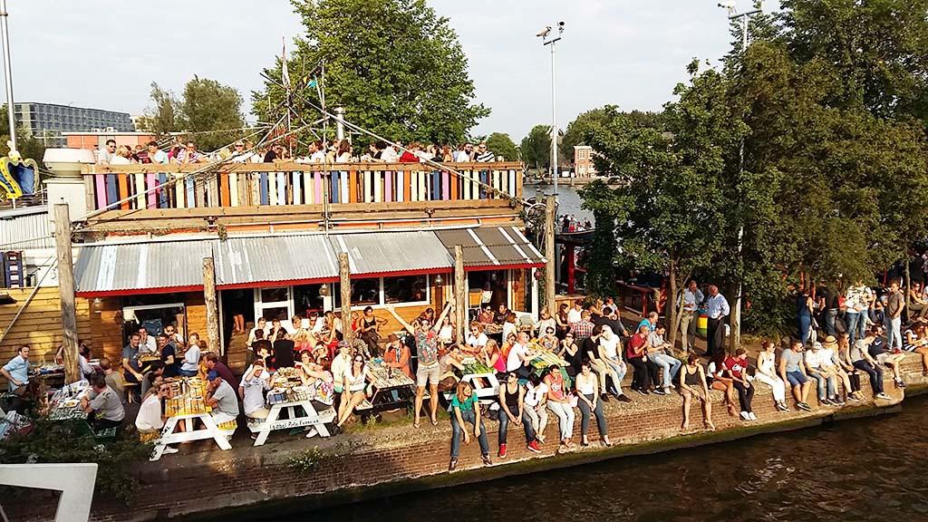 Tijdens Sail is en een groot feest in Amsterdam © Wilma Lankhorst