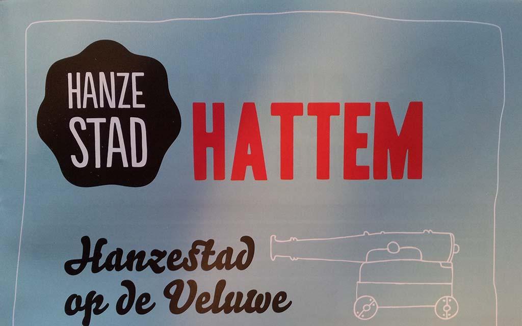 Logo van Hanzestad Hattem © Wilma Lankhorst