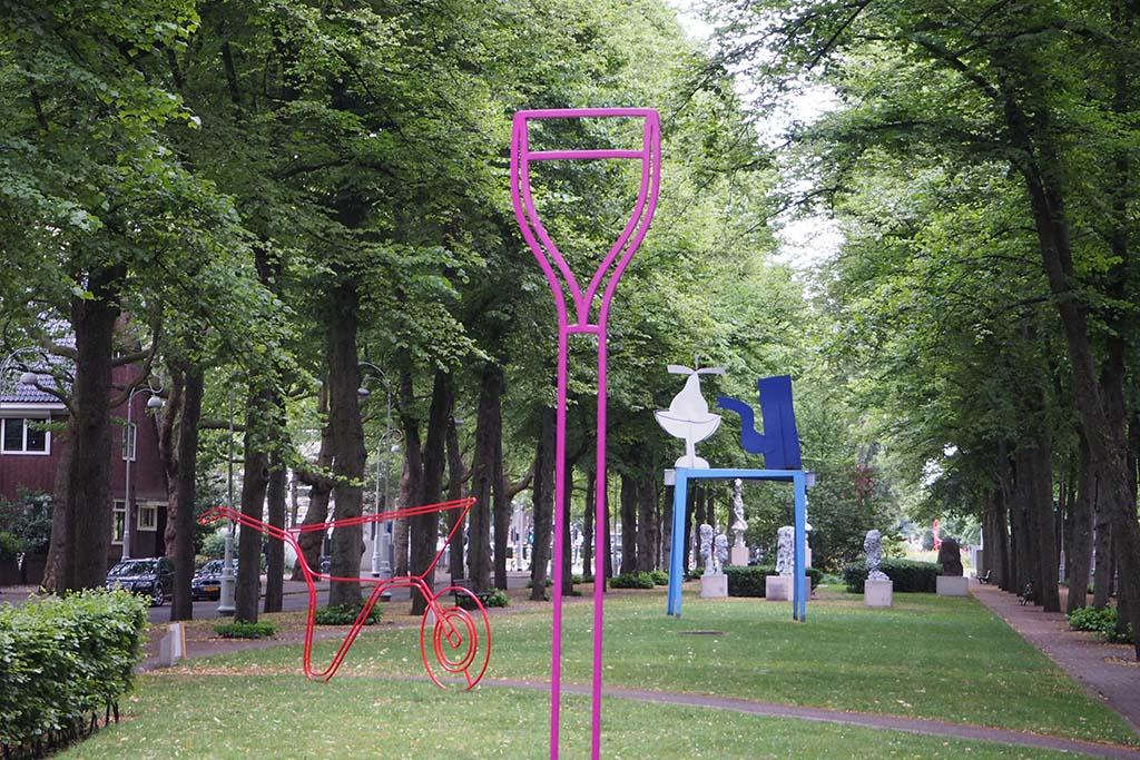 ARTZUID met werk van de Ierse kunstenaar Michael Craig-Martin en de Nederlander Klaas Gubbels foto Wilma Lankhorst