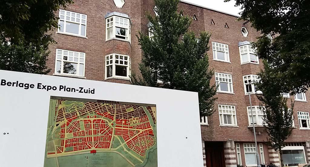 Berlage ontwierp in opdracht van de Gemeente Amsterdam Plan-Zuid