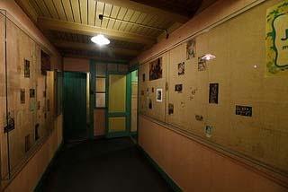 Amsterdam Anne Frank Huis Anne's kamer zonder mensen