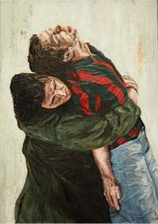 Strijd-Yusuf carries his executed brother _ Ronald Ophuis