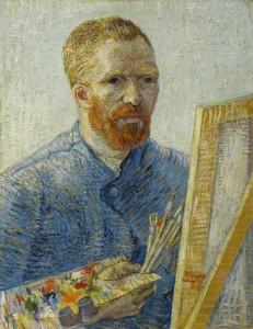 Zelfportret Van Gogh 1887 © Van Gogh Museum