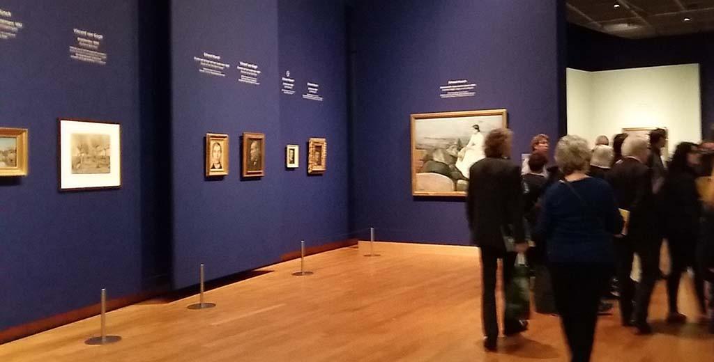 Van Goch en Munch in Van Gogh Museum Amsterdam
