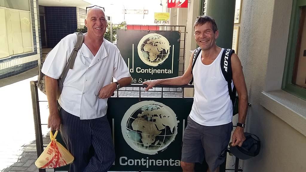 Windhoek Old Continetal (l) Sebastian en (r) Martin - Wilma Lankhorst