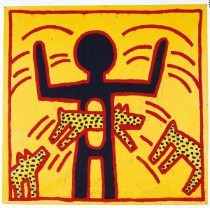 Keith Haring_Untitled_1982 © Keith Haring Foundation