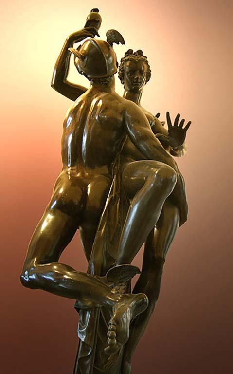 Adriaen de Vries in Louvre Mercurius-psyche © Louvre