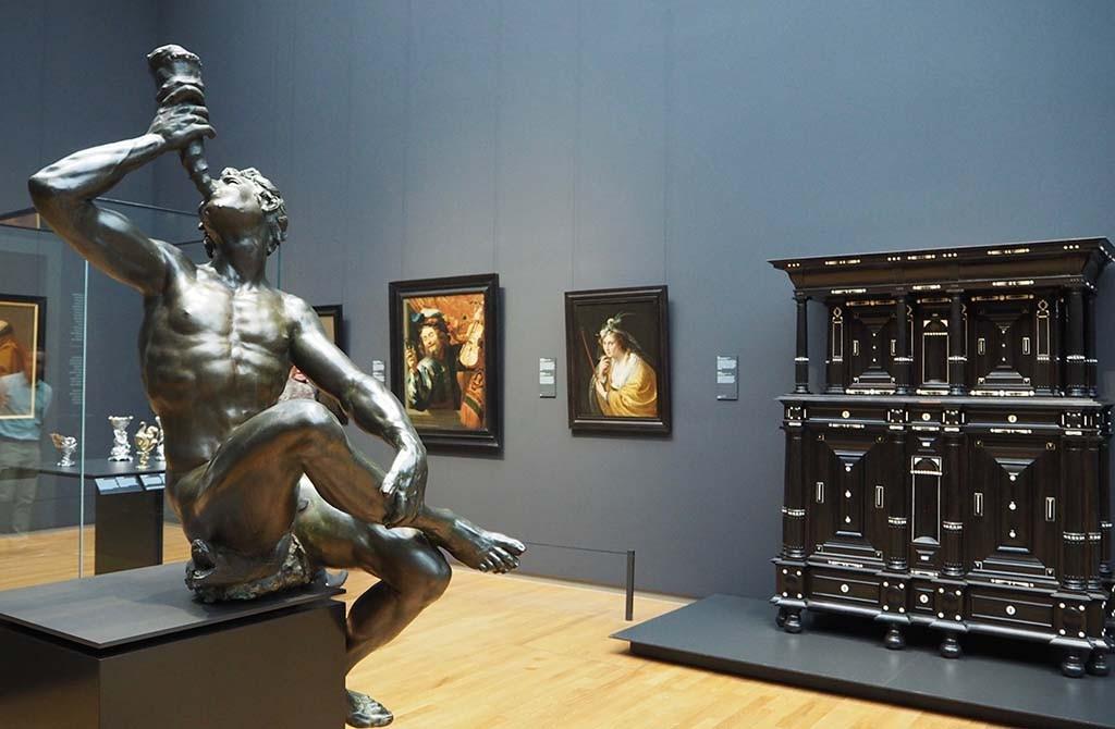 DeTriton van Adriaen de Vries uitgeleend aan het Rijksmuseum © Nationaal Museum stockholm