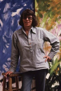 Joan Mitchell Portrait_1983 in Vetheuil - Joan Mitchell Foundation foto Robert Freson