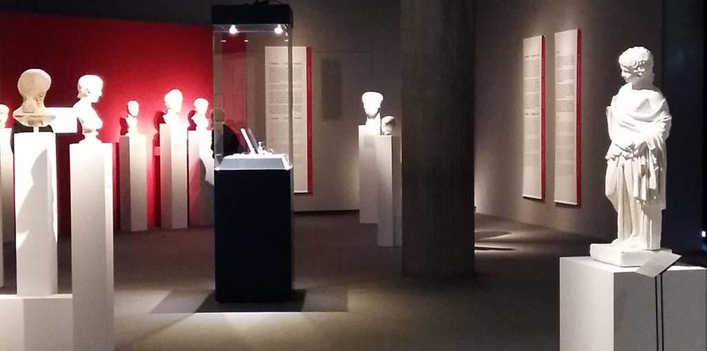 Agrippina Keizerin uit Keulen overzicht zaal Römisch-Germanisches Museum Keulen