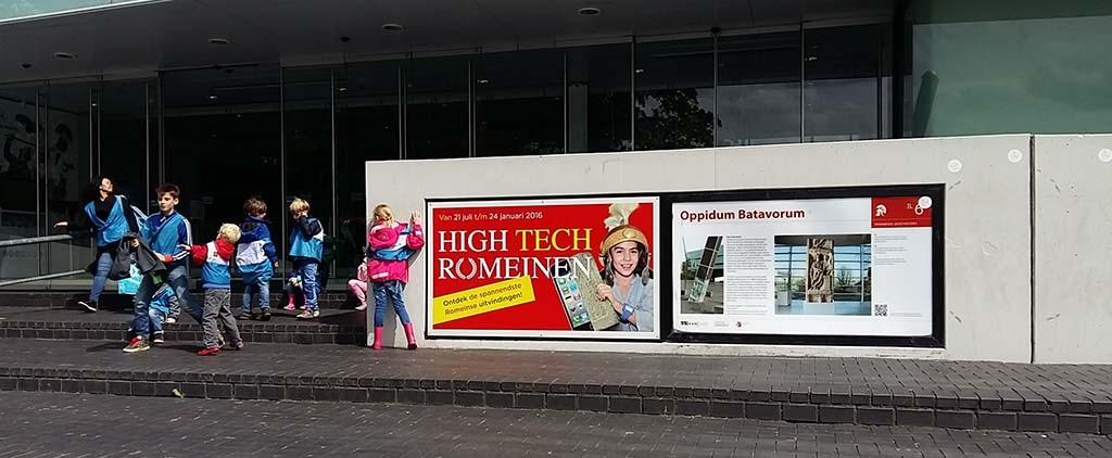 Museum het Valkhof in Nijmegen centrum voor Romeinse kunst en moderne hedendaagse kunst  © Wilma Lankhorst