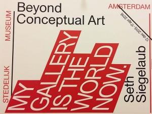 Beyond Conceptual Art Seth Siegelaub in Stedelijk Museum Amsterdam