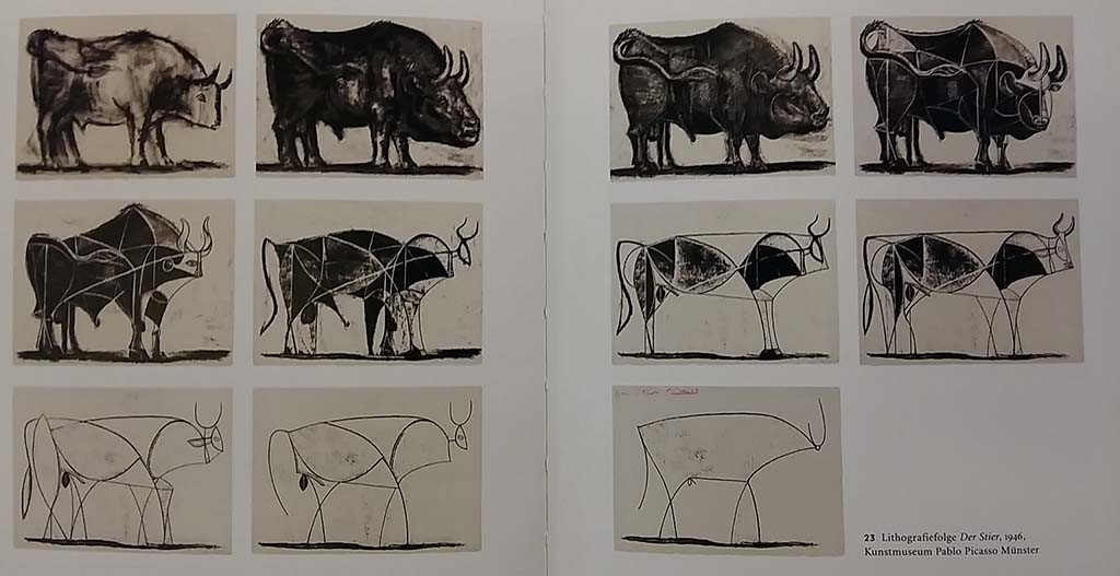 Alberto Giacometti kunstvriend Pablo Picasso - transformatie van de stier © collectie Kunstmuseum Münster