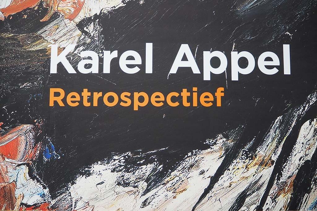 Karel Appel entree tentoonstelling