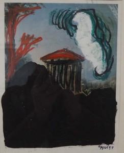 Karel Appel zonder titel 1997 32 x 24 cm © Gemeentemuseum Den Haag