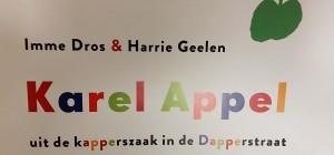kinderboek Karel Appel uit de kapperszaal in de Dapperstraat © Gemeentemuseum