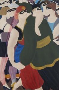 blog_Ferdinand Erfmann, Maskerade, 1950 - bruikleen Stedelijk Museum Amsterdam