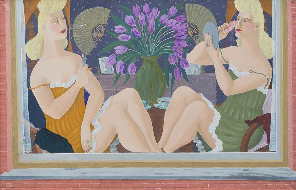 Ferdinand-Erfmann-Prostitues-1951-bruikleen-Kunstuitleen-Rotterdam