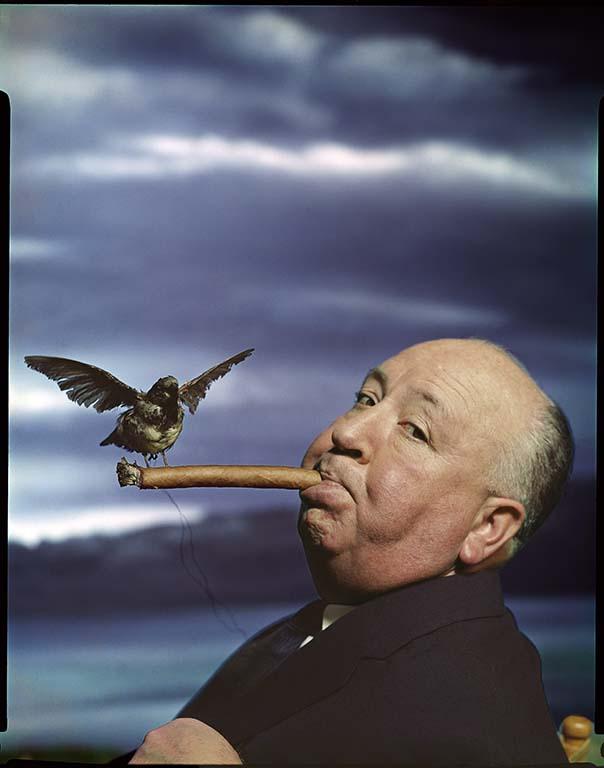 Philippe Halsman hitchcock_Promotion_the_birds_1962 ©philippe__halsman_archive_magnum_photos_low res