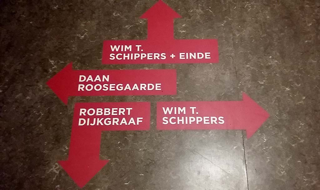 2016_DWDD 2 route in Alllard Pierson Museum Amstermda