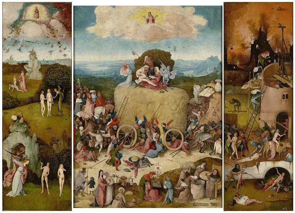 Hooiwagen_The Hay Wain_open_Madrid, Museo Nacional del Prado_LowRes