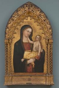 Italie Madonna. Tempera en vergulding op paneel. niet gedateerd. coll Bonnefanten Museum low res