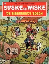 Omslag stripalbum De Bibberende Bosch - Suske en Wiske serie 2016