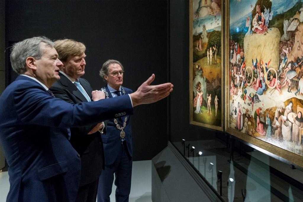 Koninklijke opening Jheronimus Bosch tentoonstelling 2016 's Hertogenbosch foto Mark Bolsius