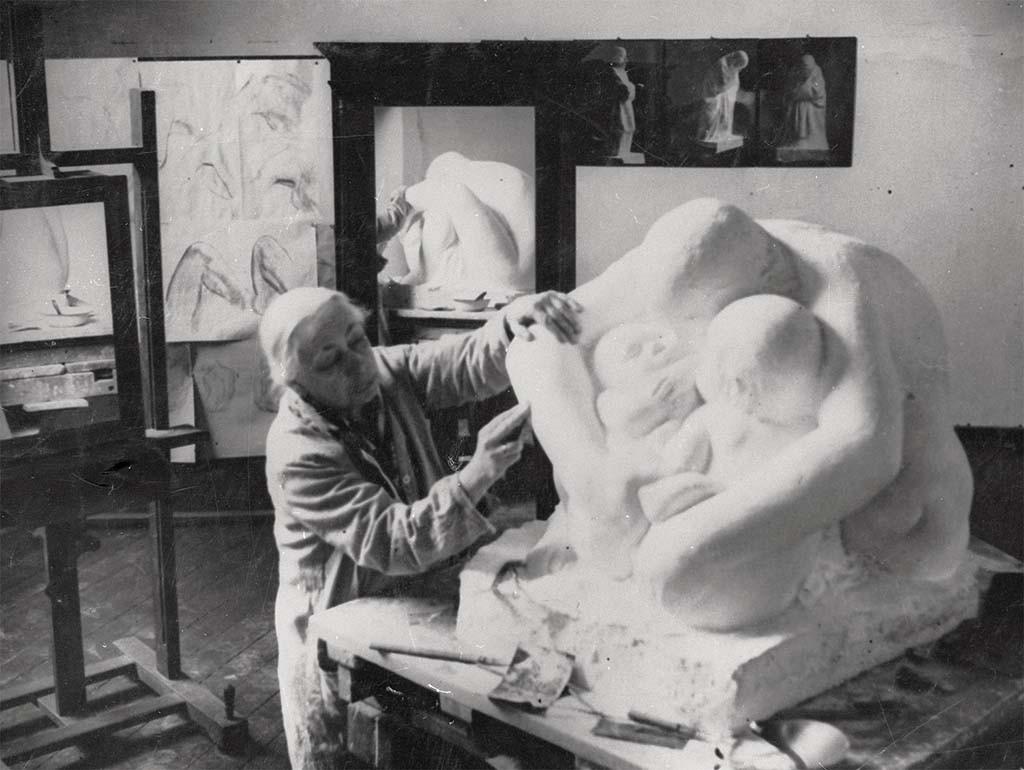 Internationale vrouwendag Kaethe-Kollwitz_Atelier-1935