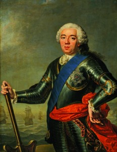 Portret van Willem IV (1751) door Jacques-André-Joseph Aved coll Mauritshuis