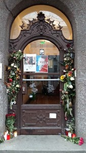 Berlijn_Hauptstrasse 155-voordeur woning David Bowie st