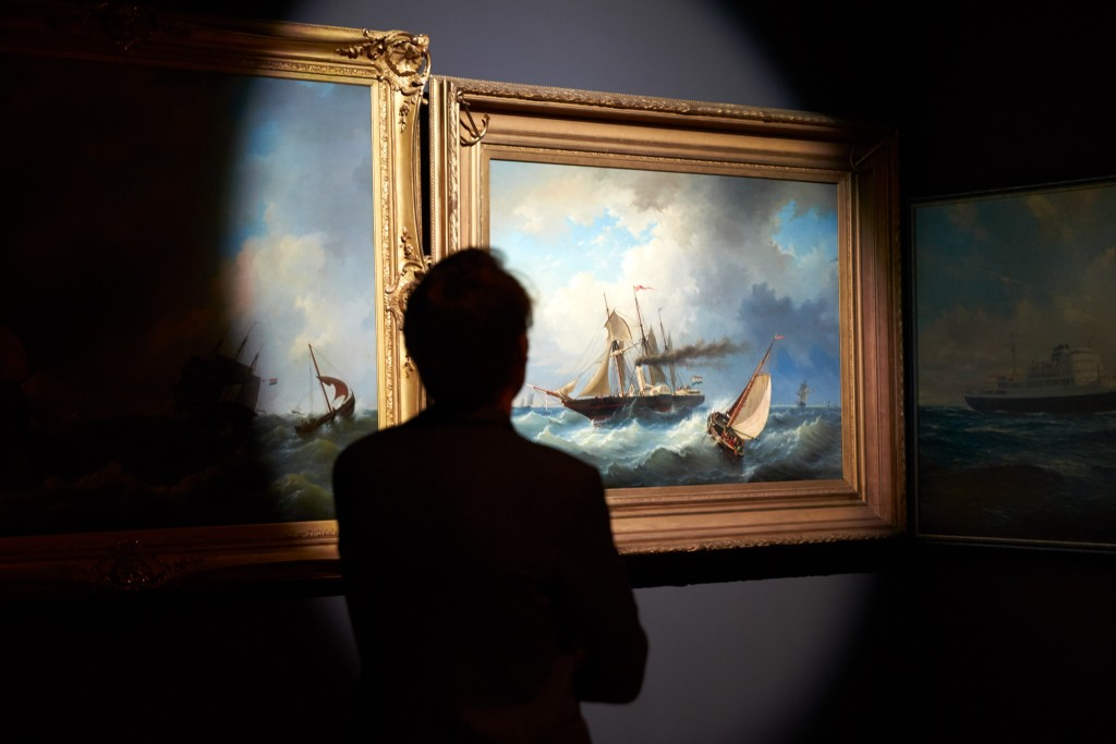 DWDD Scheepvaart Museum AMS met Daan Roosegaarde in zijn zaal