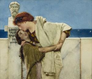 Groninger Museum_De vrienden van Mesdag - reactie op Moederliefde van Alma_Tadema