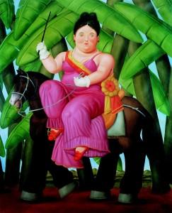 Kunsthal Rotterdam Celebrate Life - FirstLlady - 1989 coll. Fernado Botero