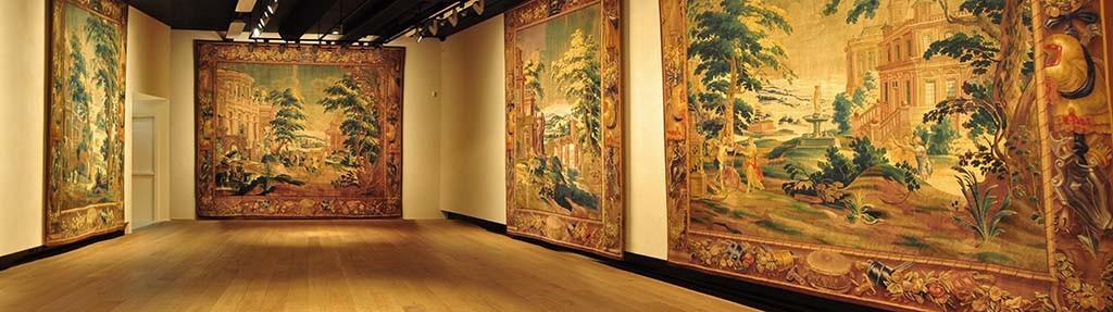 Museum het Valkhof Panorama tapijtenzaal foto Museum het Valkhof