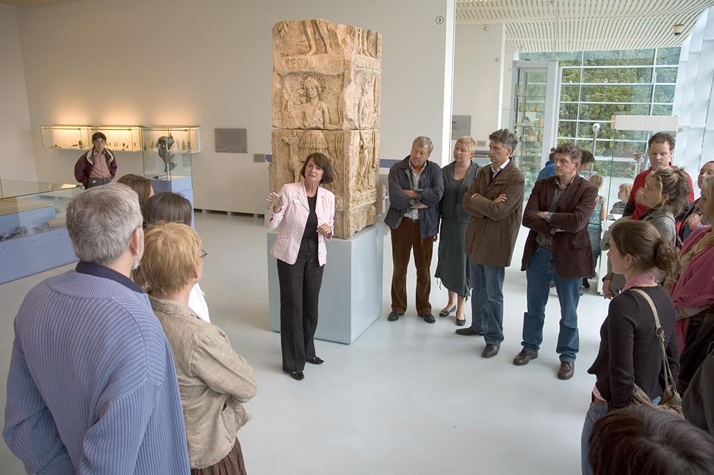 Museum het Valkhof Rondlieiding door de oudheid