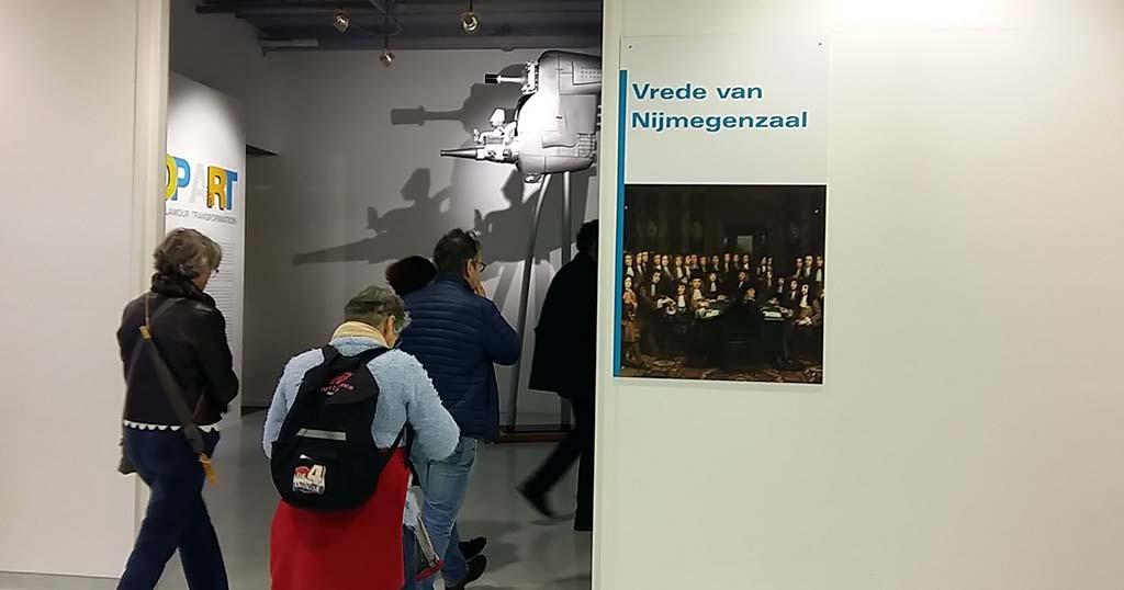 A.F.T. van der Heijden Museum het Valkhof Vrede van Nijmegenzaal foto Wilma Lankhorst