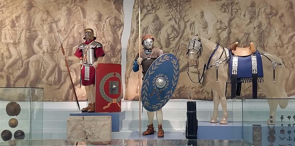 Museum het Valkhof zaaloverzicht Romeinen foto Wilma Lankhorst