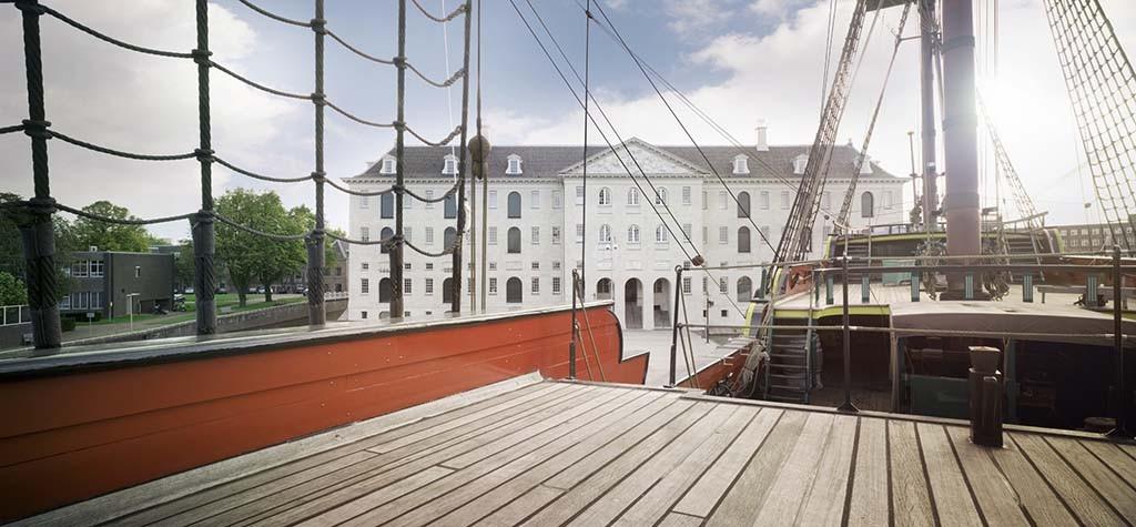 Scheepvaart_Museum_Amsterdam_vooraanzicht_foto_ Eddo Hartmann
