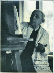 Kathe Kollwitz_aan-het-werk-in-haar-atelier-1941-©-KKM-Keulen