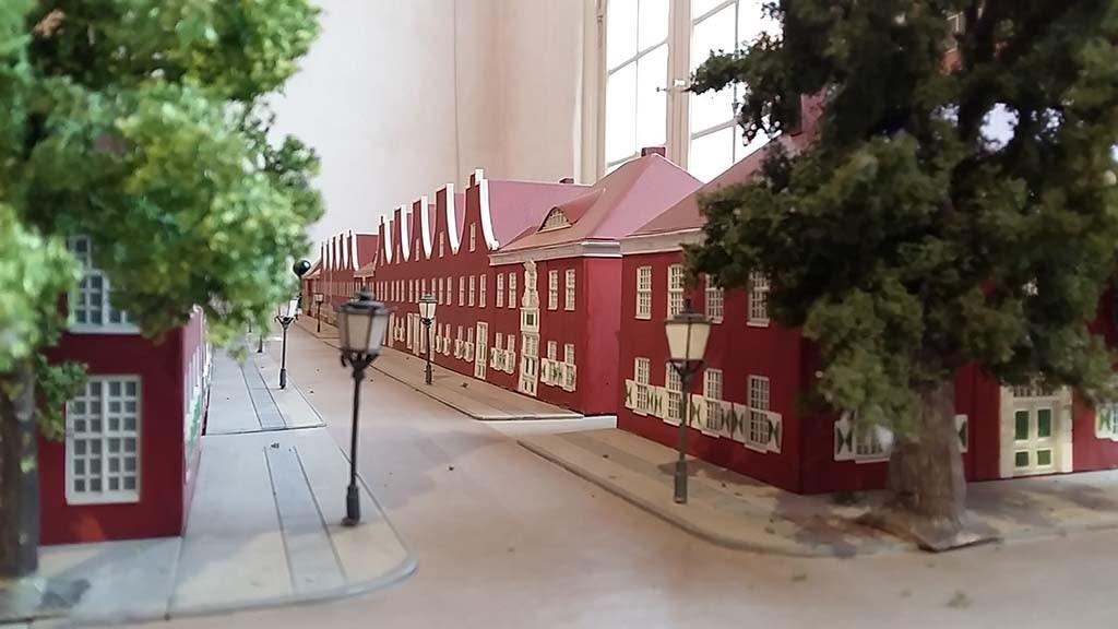Potsdam Hollandse Wijk Jan Bouman Huis - maquette foto Wilma Lankhorst