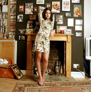 Amy Winehouse Obligatory Credit - CAMERA PRESS/Mark Okoh SPECIAL PRICE APPLIES. Jazz and soul singer Amy Winehouse poses for photos at her home in Camden, London. Her debut album 'Frank' won an Ivor Novello award and was released in October 2003. 2004