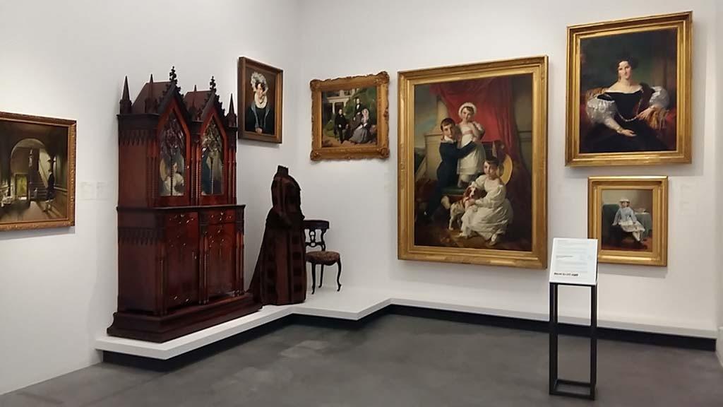 Centraal Museum een van de zalen in de expositie De wereld van Utrecht foto Wilma Lankhorst