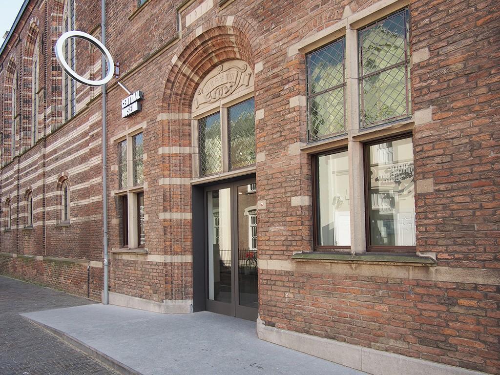 Centraal Museum nieuwe ingang Agnietenweg tegenover nijntje museum foto Wilma Lankhorst