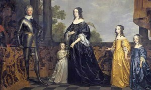 Oranjeroute Frederik_Hendrik_en Amalia van Solms met_hun kinderen met dank aan Mauritshuis
