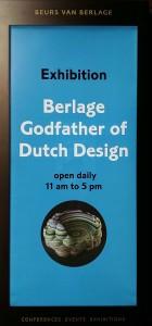 Logo Berlage Godfaher of Dutch Design Amsterdan